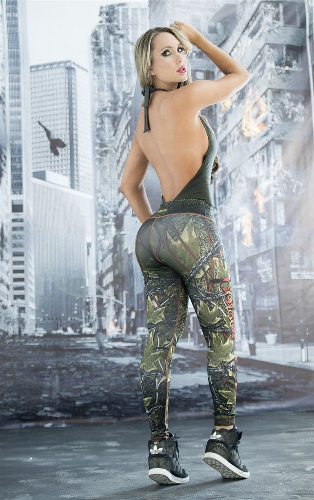 Poison Ivy - Super Hero Leggings - Fiber - Roni Taylor Fit - 3 These Poison Ivy…