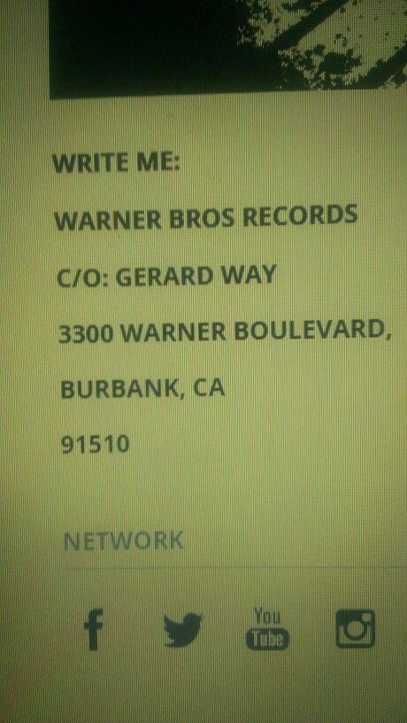 this is Gee's fanmail address, ur welcome