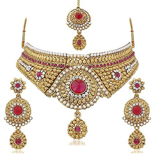 Indian Bollywood Gold Plated Pink Stone Traditional Ethni... https://www.amazon.com/dp/B06Y63QW1P/ref=cm_sw_r_pi_dp_x_rYqjzbGKW85T1