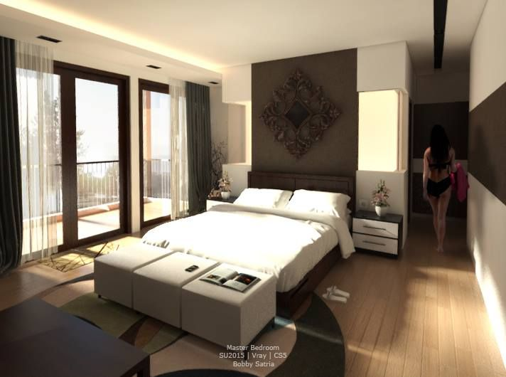 Master Bedroom, Bekasi House, West Java, Indonesia