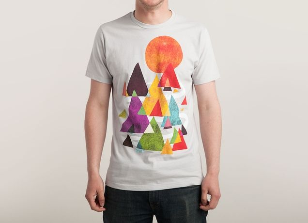"""The Mountains are Calling"" - Threadless.com - Best t-shirts in the world"