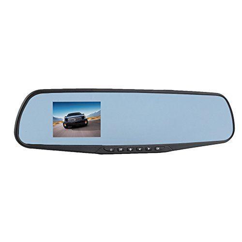 crewpros (TM) 1200Mega capteur CMOS 720p 7,1cm TFT voiture Noir Boîte Arrière Conduite Miroir: Caractéristiques: 1200Mega Pixel haute…