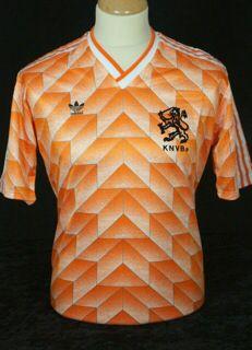 Holland Euro '88 match worn shirt. All time classic