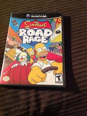 #Nintendo/#Gamecube The Simpsons Road Rage Video Game #retrogaming #ebay