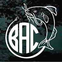 Best Fishing Decals Images On Pinterest - Vinyl fish decals for boats
