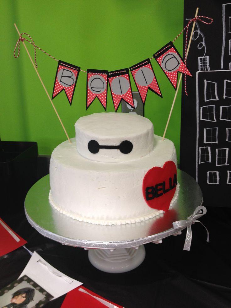 Bella's Big Hero Six birthday cake -  Baymax