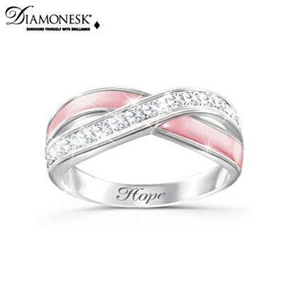 Breast Cancer Ring of Hope. #attachnwrap #chemowrap #fashionscarf