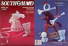 Victorian Crochet Ornaments ,designed by Sandra Peach, Peach ...