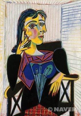<도라 마르의 초상> 파블로 피카소, 1937