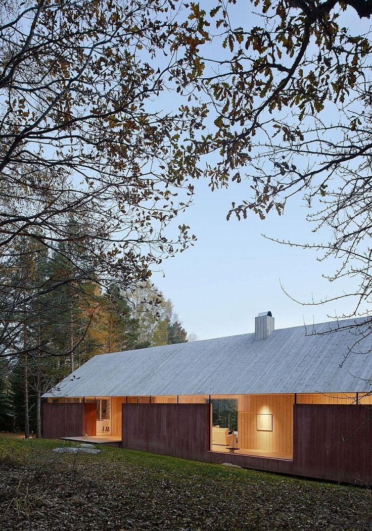 casa delicada com aberturas impactantes - {summerhouse-svartno-by-wrb-architects}
