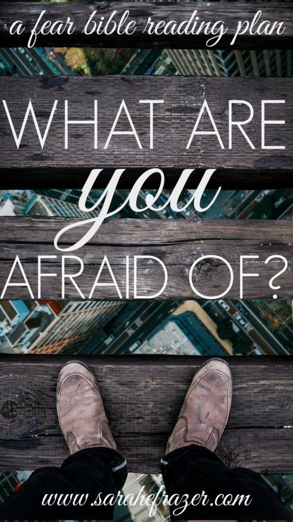 Fear Reading Plan - Sarah E. Frazer