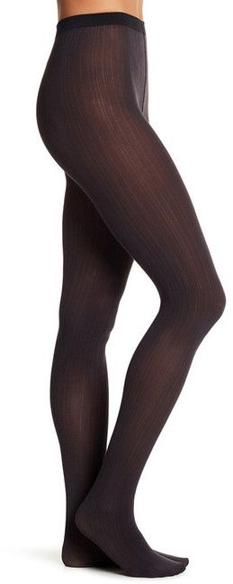 Wolford Sophia Stripe Opaque Tights