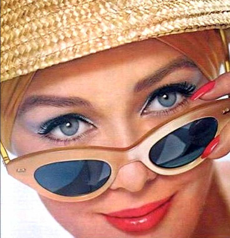 Ina Balke for Max Factor, 1963