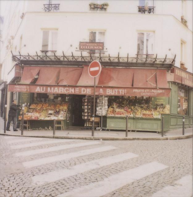 La fameuse épicerie de Montmartre dans Amélie Poulain. Un lieu culte maintenant.... :-)