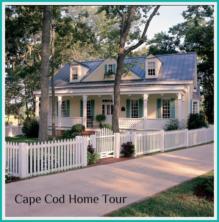 Best 25 cape cod homes ideas on pinterest for Southern living cape cod house plans