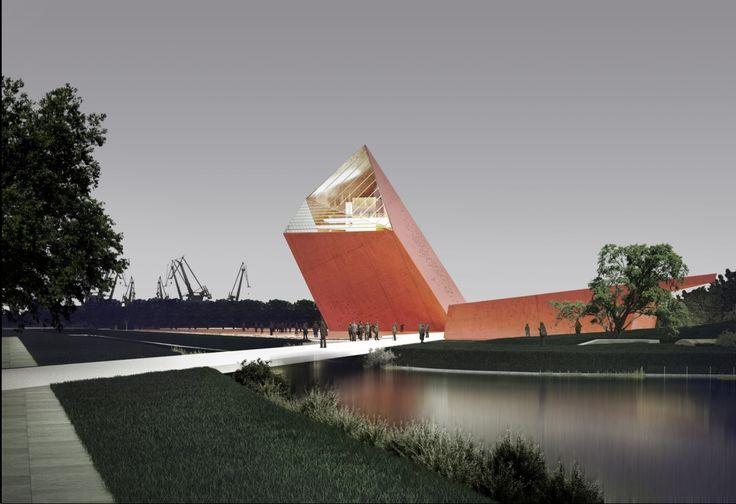 Primer Lugar del Concurso para el Museo de la Segunda Guerra en Polonia