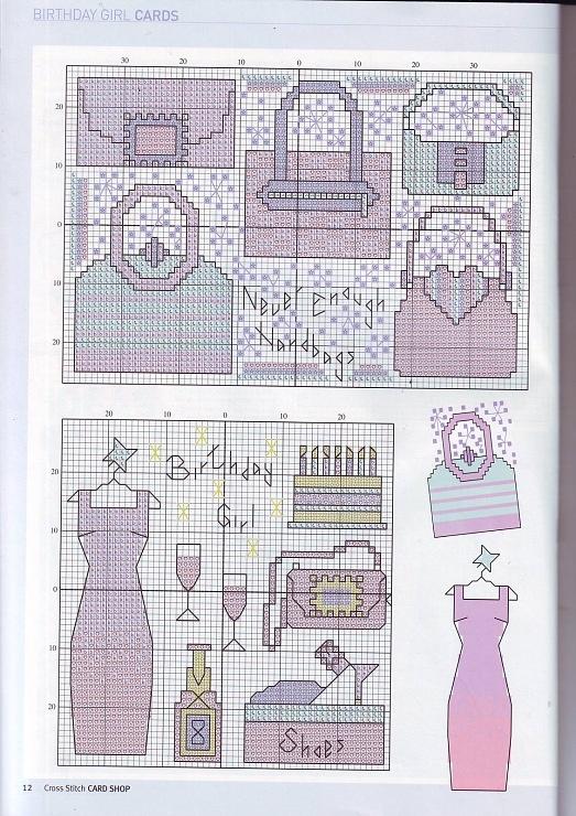 Gallery.ru / Photo # 3 - Cross Stitch Card Shop 49 - WhiteAngel