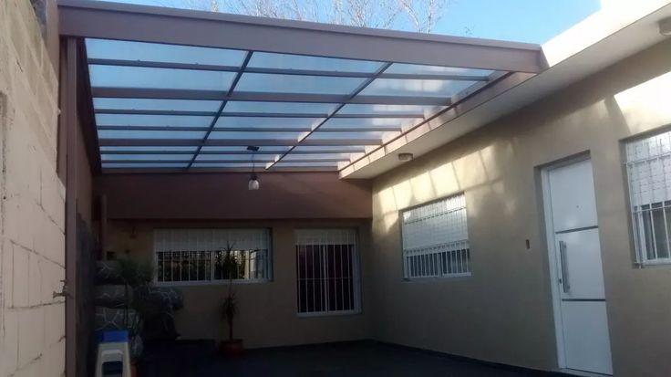 techos de policarbonato, chapa galvanizada prepintada.