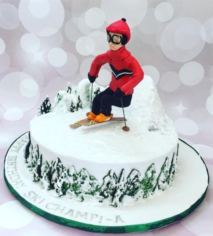 малогрибие, торт для лыжника фото тему лёг