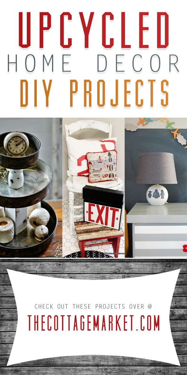 ideas about Upcycled Home Decor on Pinterest Home
