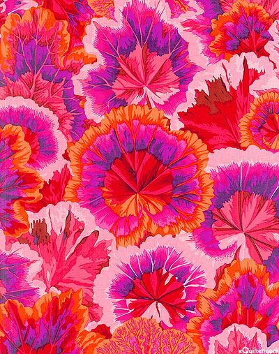 Philip Jacobs / beautiful pattern with red and purple and orange flowers motifs / creative inspiration and vibes / motifs / design / wallpaper art / fond d'écran / feur motifs