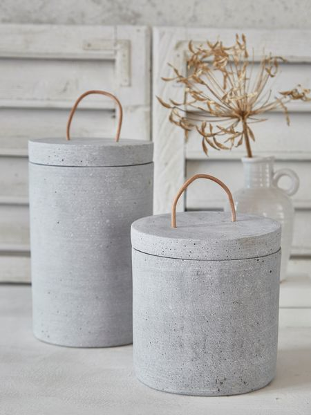 Pinterest images for Concrete Jar with Lid