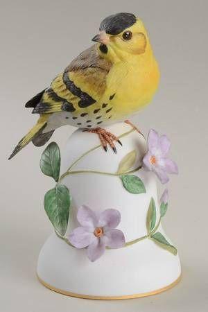 Franklin MintBird Bells-Porcelain at Replacements, Ltd
