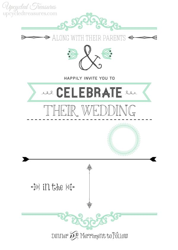 29 best Free printables images on Pinterest Free printable, Free - free dinner invitation templates printable