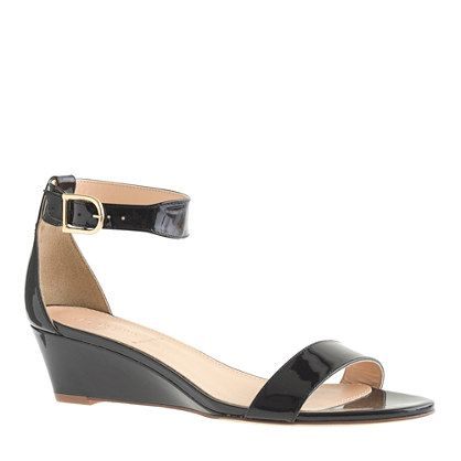 Lillian patent low wedges - Shoes - Women's 25% off select jewelry