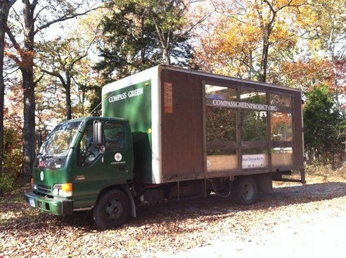 Farm-in-a-truck teaching kids about sustainability!: Vegetable Oil, Waste Vegetable, Farm Trucks, Teaches Kids, Mobile Greenhouse, Greenhouse Runs, Educational Farm, Kids Sustainable, Farm In A Truck Teaches