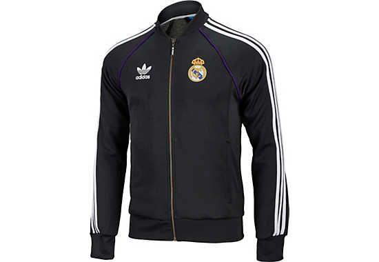 adidas Real Madrid Superstar Track Top. Hot at SoccerPro.