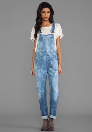 Overalls... okay, why not, they are so comfortable!  :-) and I've had them for like 20 years so why not wear them again!