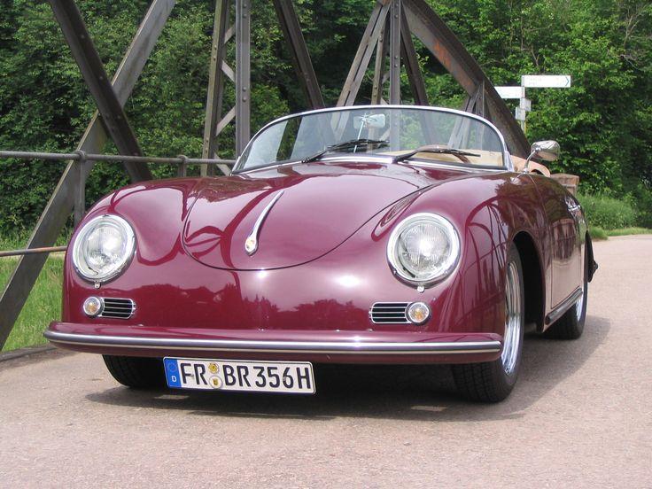 Oldtimer-Vermietung Freiburg: Porsche 356 Speedster Baumuster 1955 / Baujahr 1976