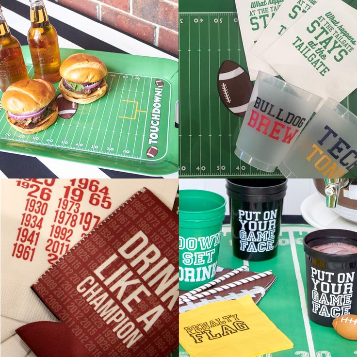 IT'S KICKOFF TO COLLEGE FOOTBALL! Shop online now for the best items to make your tailgate the best!