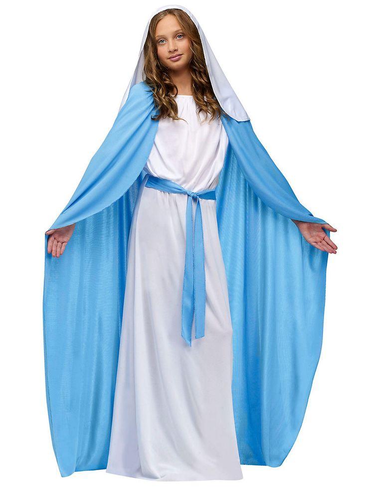 homemade virgin mary costume - Google Search