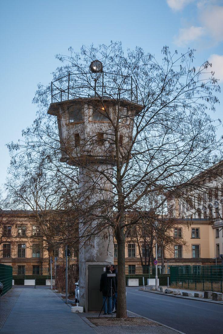 Wachttoren Erna-Berger-Straße am Potsdamer Platz
