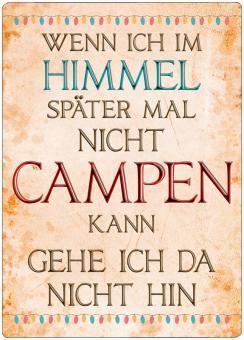 Dekoschild IM HIMMEL CAMPEN