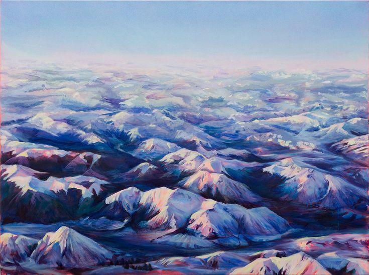 INTO THE BLUE ETERNAL by CARLA HANANIAH represented byEdwina Corlette Gallery - Contemporary Art Brisbane