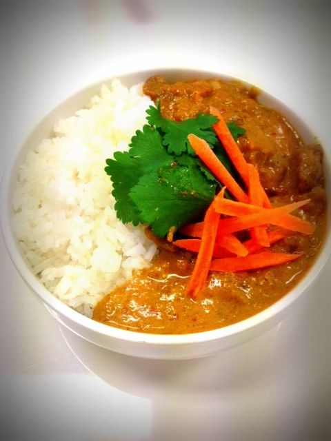 Crave Hawkers stand and food - India cuisine, Lamb Korma!
