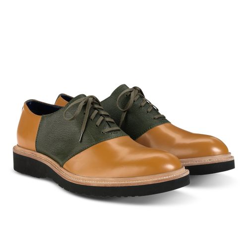 Cole Haan Martin Wedge Saddle Oxford www.colehaan.com