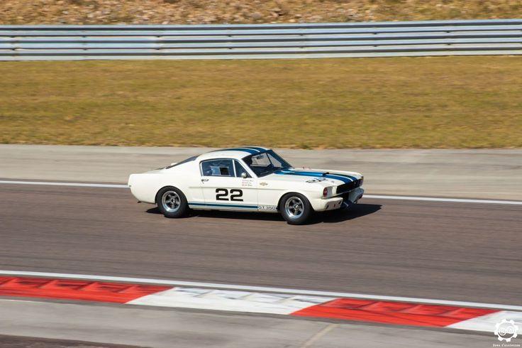 #Ford #Mustang sur la piste de #Dijon_Prenois au #GPAO Article original : http://newsdanciennes.com/2015/06/07/news-danciennes-au-grand-prix-de-lage-dor/ #Racecar #VintageCar #ClassicCar