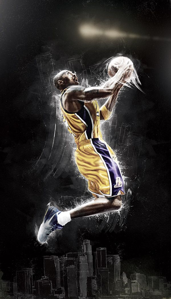 Kobe Bryant: Houses, Graphics Design Typography, Illustrations, Kobe Bryant, Digital Artworks, Mike Harrison, Creative Sports, Advertising Ideas, Nike