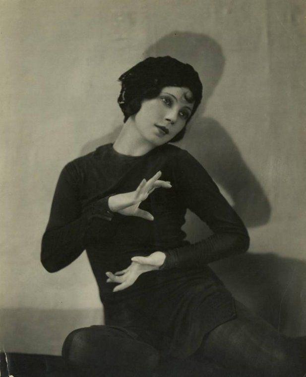 a beautiful photo of austrian dancer tilly losch