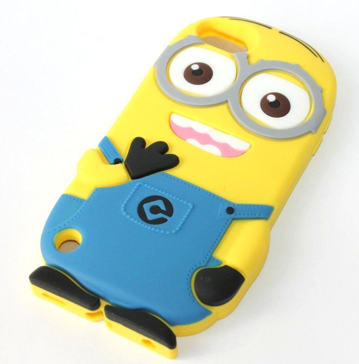 iPod Touch 5th / 6th Generation Minion Rubber Case Cover