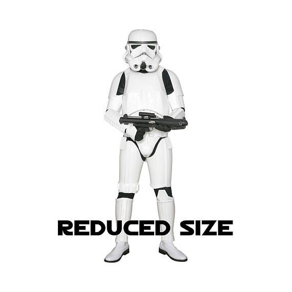 SPECIAL OFFER Star Wars Stormtrooper Costume Armor with Accessories and Ready to Wear - Original Replica - A New Hope - Reduced Size