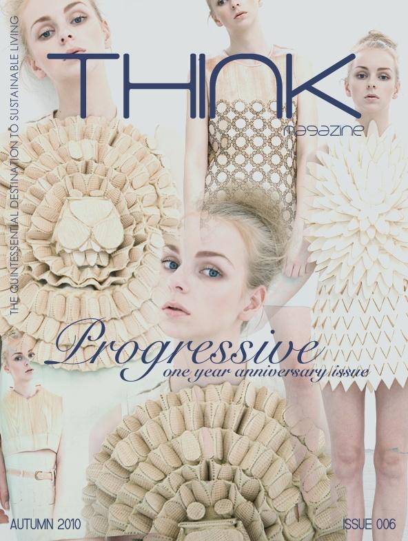 Cover images shot by Shin Inaba  Clothing designer Kenji Kawasumi Think magazine Issue 006