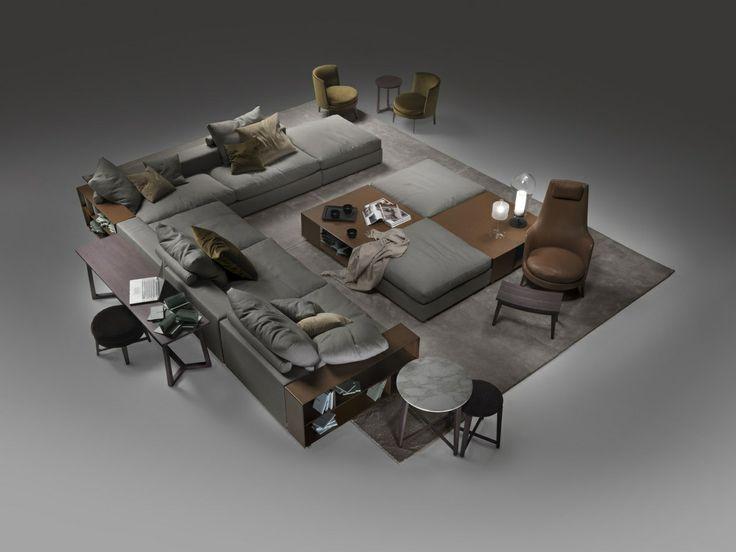 Groundpiece Sofa Flexform Architecture Interior Design
