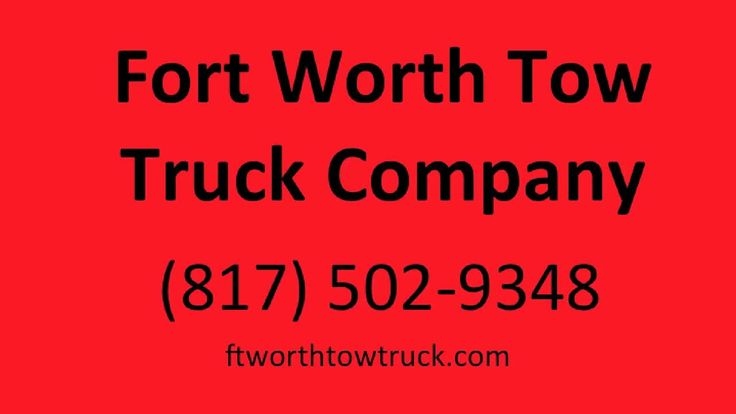 24 Hour Towing Service Fort Worth TX.mp4