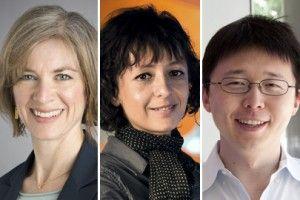 Jennifer Doudna, Emmanuelle Charpentier. Feng Zhang, CRISPR patent, gene editing