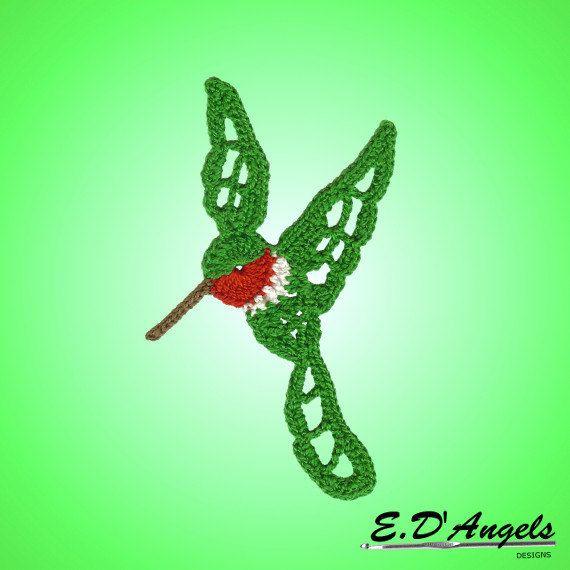 Crochet Pattern HUMMINGBIRD